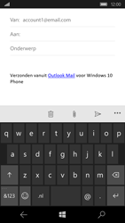 Microsoft Lumia 650 - E-mail - Bericht met attachment versturen - Stap 5