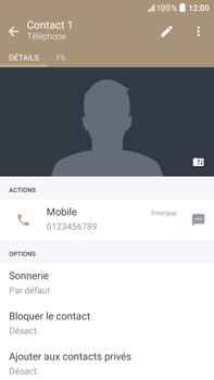 HTC Desire 825 - Contact, Appels, SMS/MMS - Ajouter un contact - Étape 10