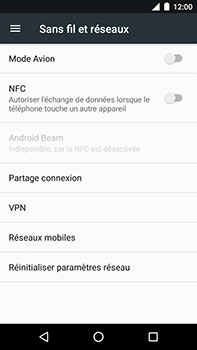Motorola Moto E4 Plus - Aller plus loin - Désactiver les données à l'étranger - Étape 5