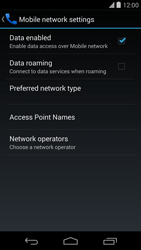 LG D821 Google Nexus 5 - Internet - Enable or disable - Step 6