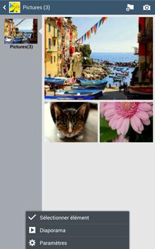 Samsung Galaxy Tab 3 8 4G - Photos, vidéos, musique - Envoyer une photo via Bluetooth - Étape 6