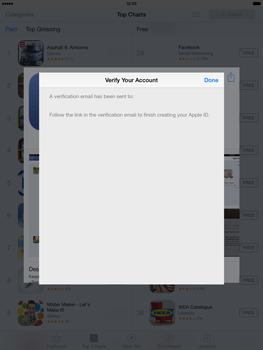 Apple iPad mini iOS 7 - Applications - Downloading applications - Step 24