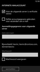 Samsung I8750 Ativ S - E-mail - e-mail instellen: IMAP (aanbevolen) - Stap 14