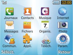 Samsung S3350 Chat 335 - MMS - configuration manuelle - Étape 4