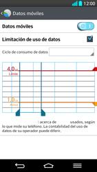 LG G2 - Internet - Ver uso de datos - Paso 11