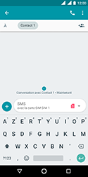 Nokia 3.1 - Contact, Appels, SMS/MMS - Envoyer un MMS - Étape 7