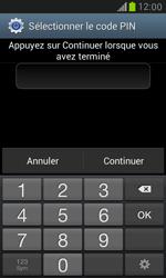 Samsung Galaxy S3 Mini - Sécuriser votre mobile - Activer le code de verrouillage - Étape 8