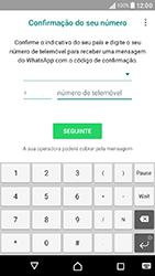 Sony Xperia XA (F3111) - Aplicações - Como configurar o WhatsApp -  9