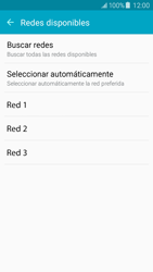 Samsung Galaxy J5 - Red - Seleccionar una red - Paso 7