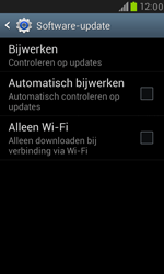 Samsung I8190 Galaxy S III Mini - Toestel - Software update - Stap 7