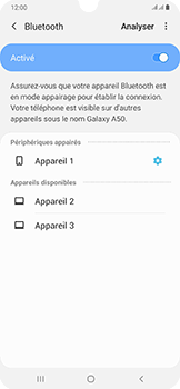 Samsung Galaxy A50 - Bluetooth - connexion Bluetooth - Étape 11