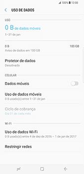 Samsung Galaxy S8 Plus - Internet no telemóvel - Como ativar os dados móveis -  6