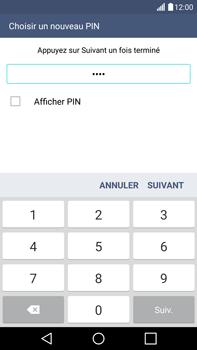 LG G4 - Sécuriser votre mobile - Activer le code de verrouillage - Étape 9