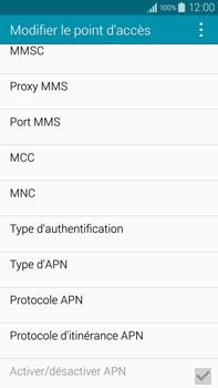 Samsung Galaxy Note 4 - Premiers pas - Configurer l