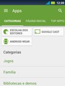 Motorola Master XT605 - Aplicativos - Como baixar aplicativos - Etapa 6