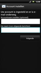 Sony Ericsson Xperia Neo met OS 4 ICS - E-mail - Handmatig instellen - Stap 19