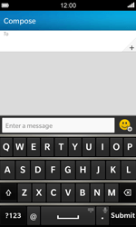 BlackBerry Z10 - MMS - Sending pictures - Step 4