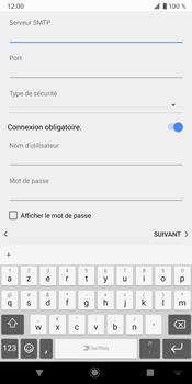 Sony Xperia XZ3 - E-mail - Configurer l