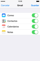Apple iPhone 4S iOS 7 - E-mail - Configurar Gmail - Paso 9