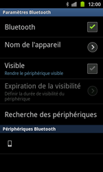 Samsung I8530 Galaxy Beam - Bluetooth - connexion Bluetooth - Étape 9