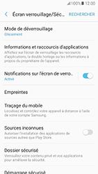 Samsung Galaxy A5 (2017) (A520) - Sécuriser votre mobile - Activer le code de verrouillage - Étape 5