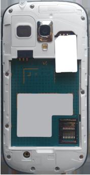 Samsung Galaxy S3 Mini - Primeros pasos - Quitar y colocar la batería - Paso 4