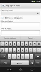 Sony Xpéria SP - E-mails - Ajouter ou modifier un compte e-mail - Étape 16