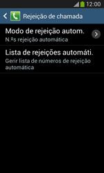 Samsung Galaxy Ace 3 LTE - Chamadas - Como bloquear chamadas de um número -  7