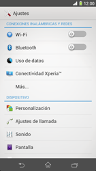 Sony Xperia Z1 - Bluetooth - Conectar dispositivos a través de Bluetooth - Paso 4