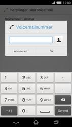 Sony D6503 Xperia Z2 - Voicemail - handmatig instellen - Stap 8