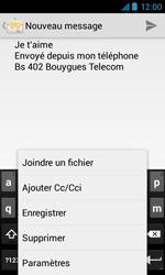 Bouygues Telecom Bs 402 - E-mails - Envoyer un e-mail - Étape 10