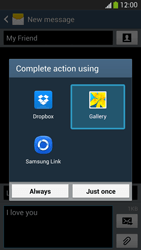 Samsung I9295 Galaxy S IV Active - MMS - Sending pictures - Step 15