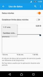 Sony Xperia M5 (E5603) - Internet - Ver uso de datos - Paso 6