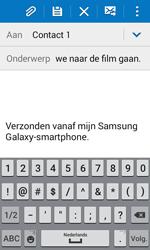 Samsung J100H Galaxy J1 - E-mail - E-mail versturen - Stap 9