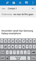 Samsung Galaxy J1 (SM-J100H) - E-mail - Hoe te versturen - Stap 9