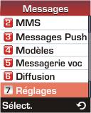 Samsung E330 - SMS - configuration manuelle - Étape 4
