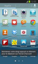 Samsung Galaxy Express - Applications - Personnaliser l