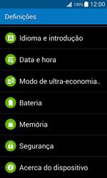 Samsung Galaxy Trend 2 Lite - Segurança - Como ativar o código PIN do cartão de telemóvel -  4