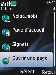 Nokia 6600i slide - Internet - Navigation sur Internet - Étape 3