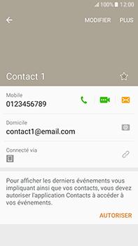 Samsung Samsung Galaxy J7 (2016) - Contact, Appels, SMS/MMS - Ajouter un contact - Étape 10