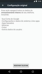 LG Google Nexus 5X - Funções básicas - Como restaurar as configurações originais do seu aparelho - Etapa 8