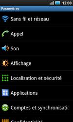 Samsung I5800 Galaxy Apollo - Internet - configuration manuelle 2.2 - Étape 4