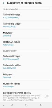 Samsung Galaxy A7 2018 - Photos, vidéos, musique - Créer une vidéo - Étape 11