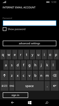 Microsoft Lumia 640 XL - Email - Manual configuration - Step 18