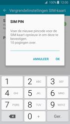 Samsung Galaxy J3 (SM-J320FN) - Beveiliging en ouderlijk toezicht - Hoe wijzig ik mijn SIM PIN-code - Stap 10