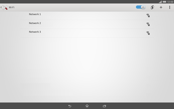 Sony Xperia Tablet Z2 4G (SGP521) - WiFi - Handmatig instellen - Stap 6