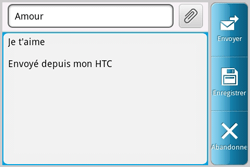 HTC A810e ChaCha - E-mail - envoyer un e-mail - Étape 7