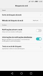 Huawei Y6 (2017) - Segurança - Como ativar o código de bloqueio do ecrã -  4