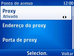 Nokia X2-01 - Internet - Como configurar seu celular para navegar através de Vivo Internet - Etapa 10