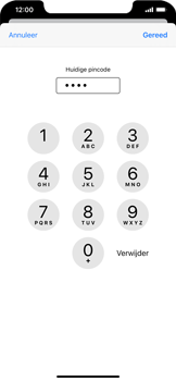 Apple iphone-11-model-a2221 - Beveiliging en ouderlijk toezicht - Hoe wijzig ik mijn SIM PIN-code - Stap 7